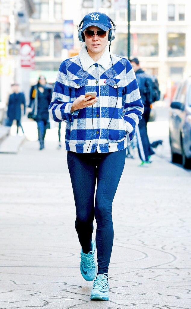 Saturday Savings: Get Diane Kruger's Rad Plaid Jacket–for Less