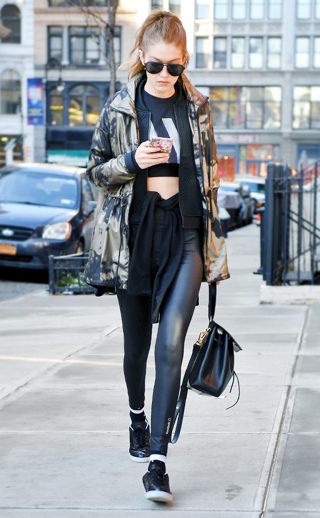 ESC: Leggings, Gigi Hadid
