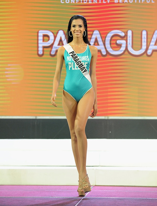 Fit For Travel Brazil: Miss Paraguay From Miss Universe 2017 Preliminary Swimsuit