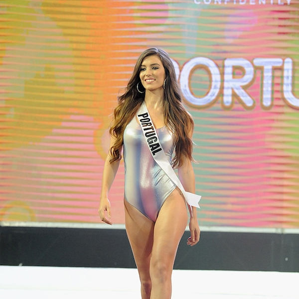 miss portugal from miss universe 2017 preliminary swimsuit. Black Bedroom Furniture Sets. Home Design Ideas