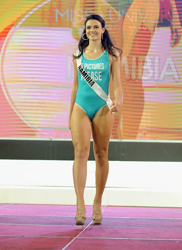 Miss Namibia From Miss Universe 2017 Preliminary Swimsuit