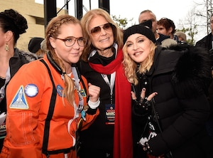 Womens March, Amy Schumer, Madonna, Gloria Steinem