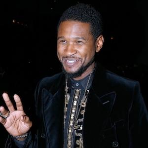 Usher, Paris Fashion Week