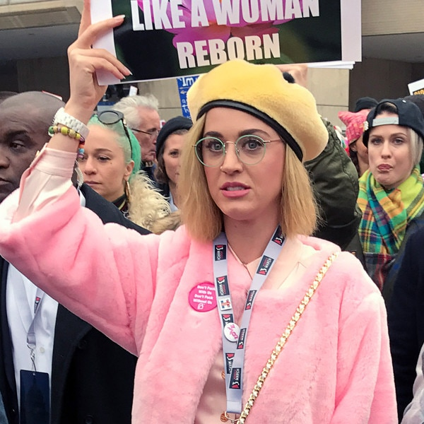 Women's March, Katy Perry