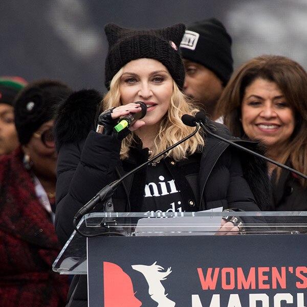 Madonna, Women's March