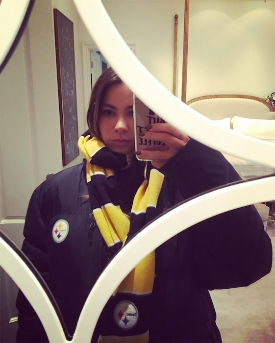 Sofia Vergara, Steelers, Instagram
