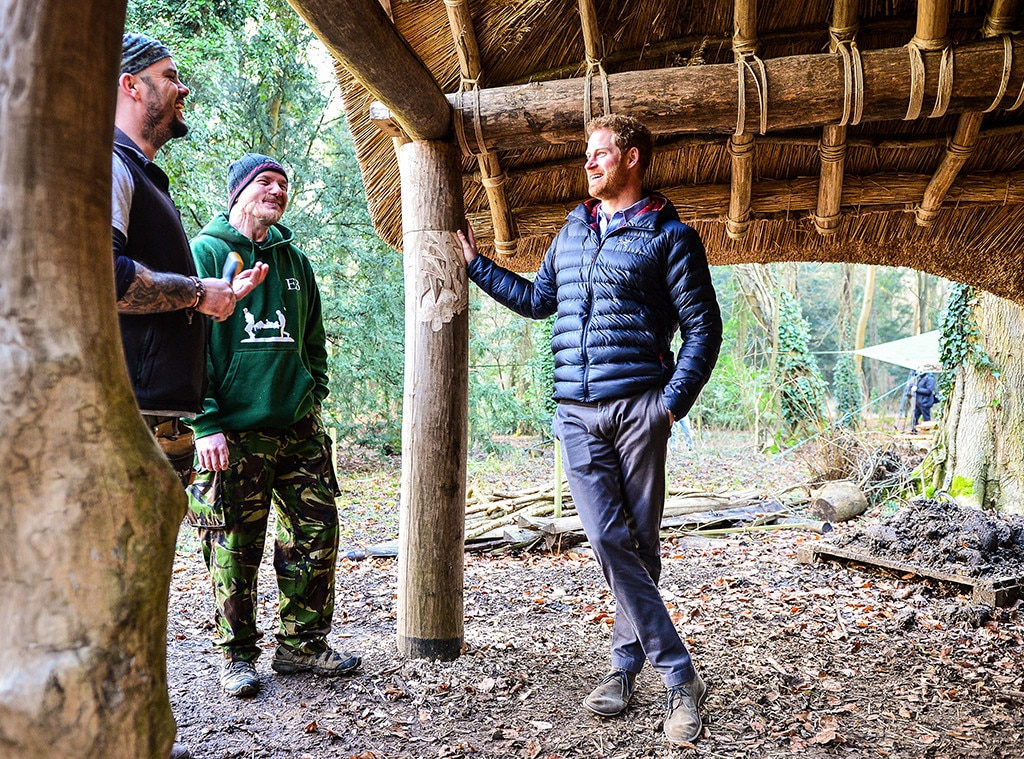 Prince Harry, Mike Day, Eddie Beddoes