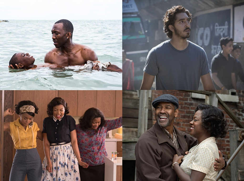 Oscar Nominees, Fences, Hidden Figures, Lion, Moonlight