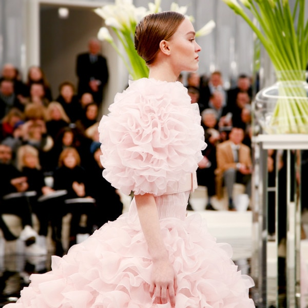 ESC: Paris Haute Couture Spring Summer 2017, Chanel, Model Lily-Rose Depp