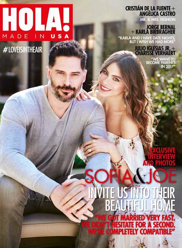 Joe Manganiello, Sofia Vergara, Hola! Magazine