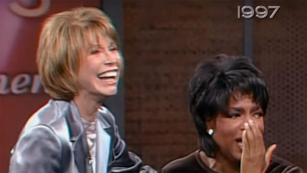 Mary Tyler Moore, Oprah Winfrey