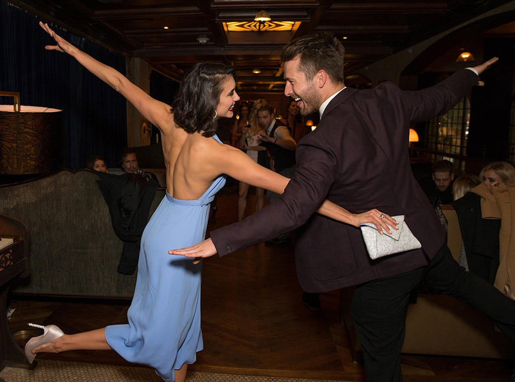 Nina Dobrev, Glen Powell