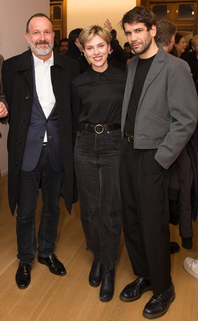 Simon Lee, Scarlett Johansson, Romain Dauriac