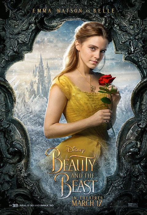 Emma Watson, Beauty and the Beast, Character Poster