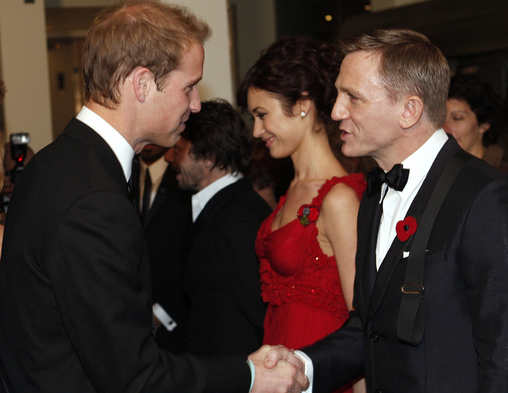 Prince William, Daniel Craig