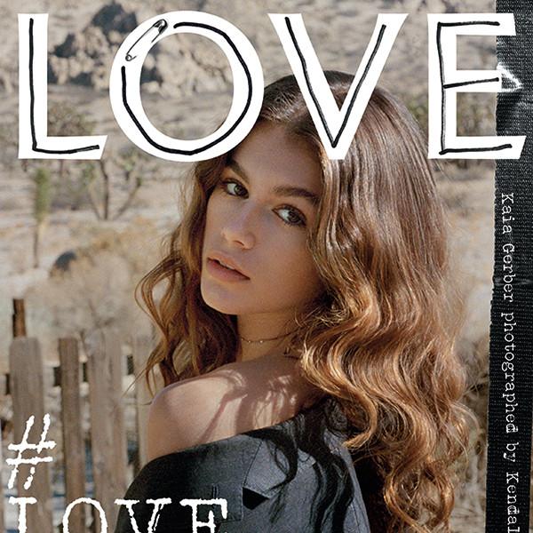 Kaia Gerber, LOVE Magazine