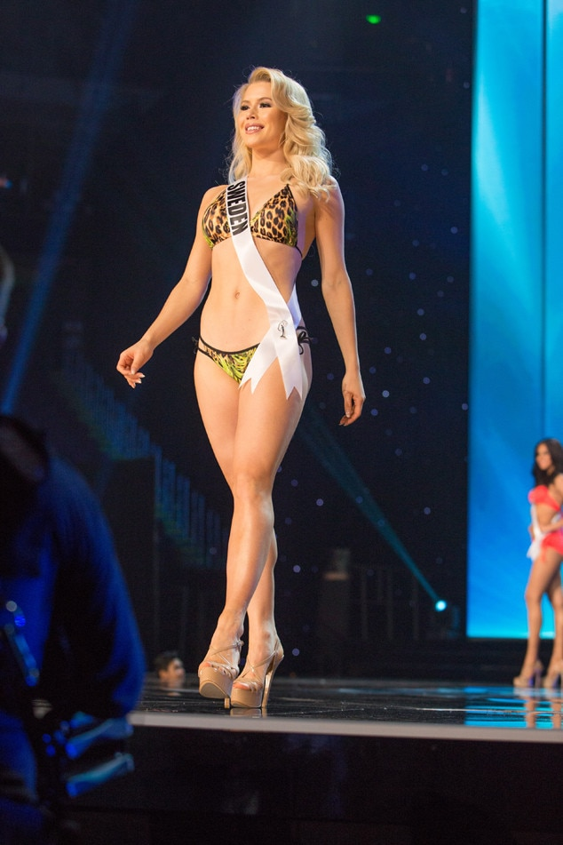 Miss Sweden From Miss Universe 2017 Preliminary Swimsuit