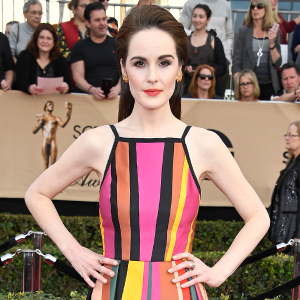 Michelle Dockery, 2017 SAG Awards, Arrivals