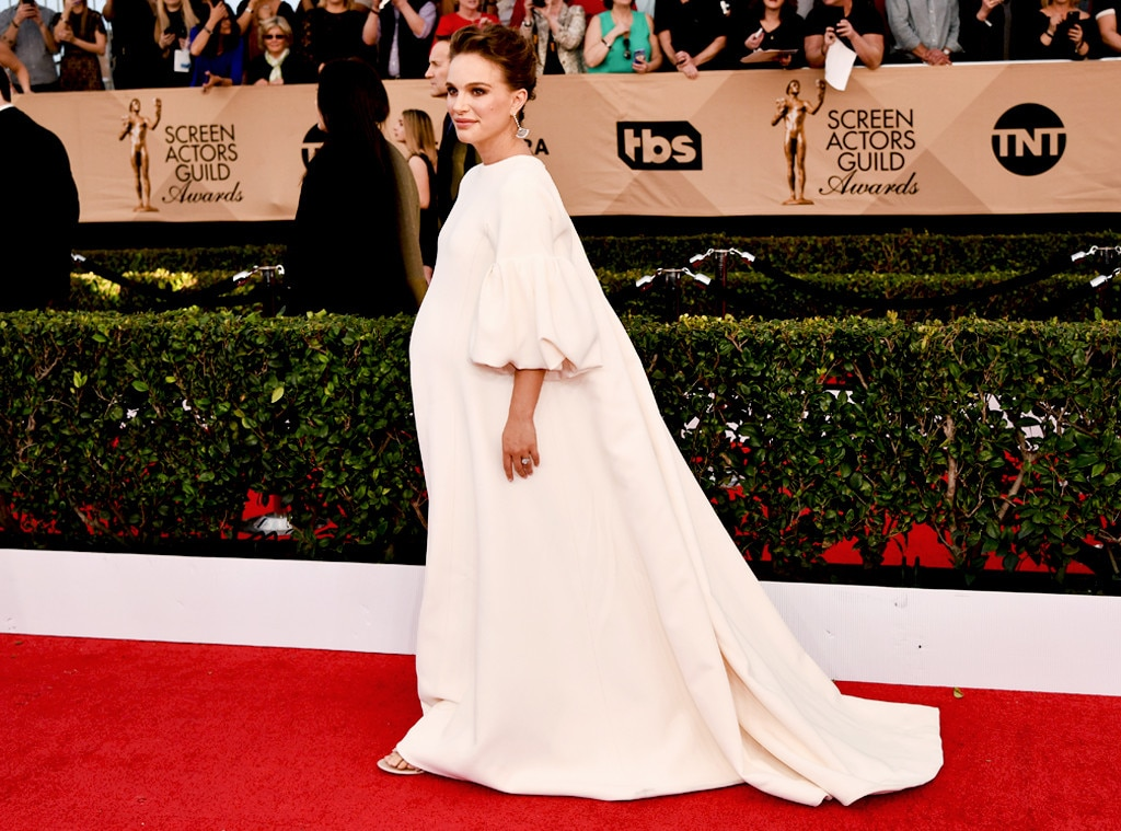 ESC: Natalie Portman, 2017 SAG Awards, Best Dresses