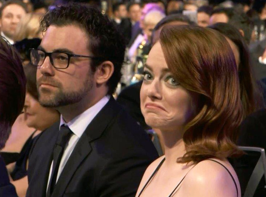 Emma Stone, Spencer Stone, 2017 SAG Awards, Family