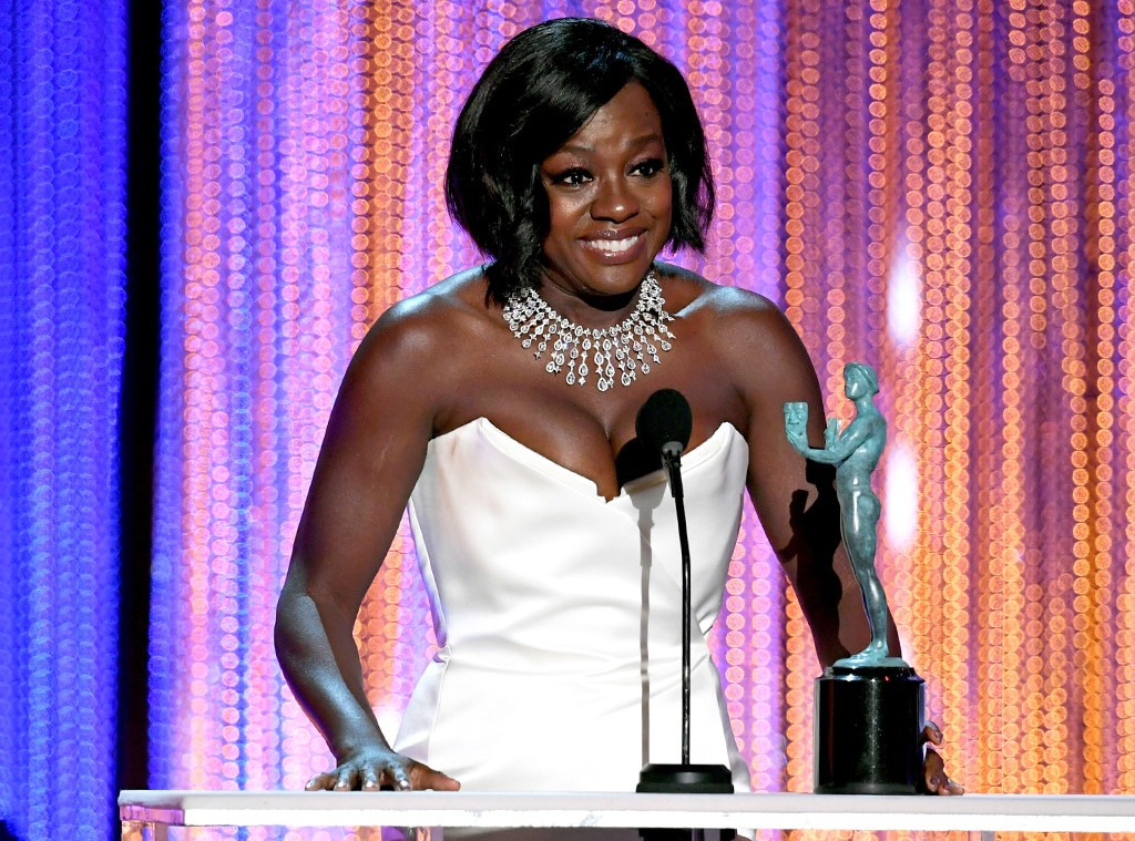 Viola Davis, 2017 SAG Awards, Winners