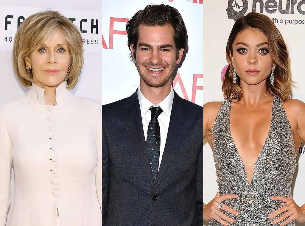 Jane Fonda, Andrew Garfield, Sarah Hyland