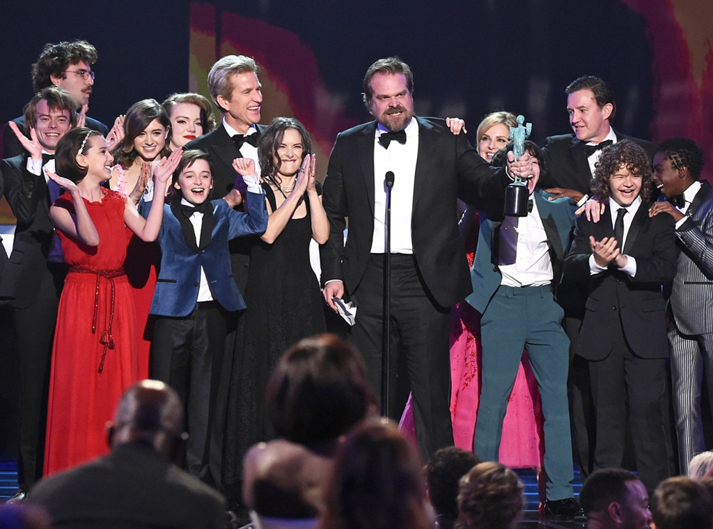Stranger Things, 2017 SAG Awards, Winners