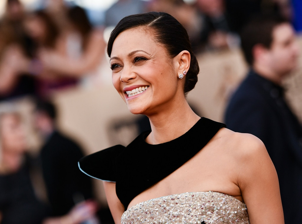 ESC: Thandie Newton, 2017 SAG Awards