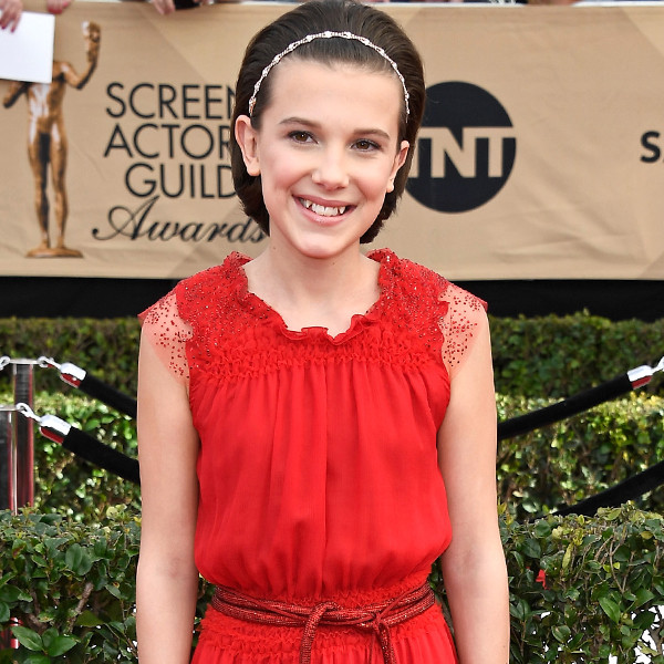 Millie Bobby Brown, 2017 SAG Awards, Arrivals