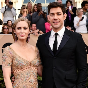 Emily Blunt, John Krasinski, 2017 SAG Awards, Couples