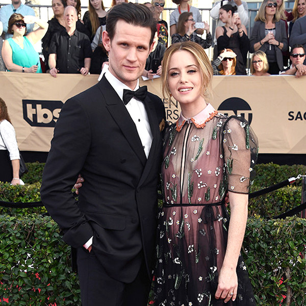 Matt Smith, Claire Foy, 2017 SAG Awards, Couples