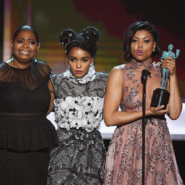 Octavia Spencer, Janelle Monae, Taraji P. Henson, Winners