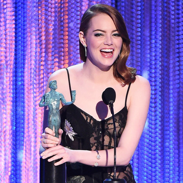 Emma Stone, 2017 SAG Awards, Winners