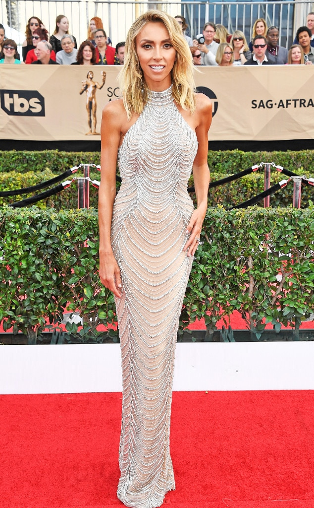 Giuliana Rancic, 2017 SAG Awards, Arrivals