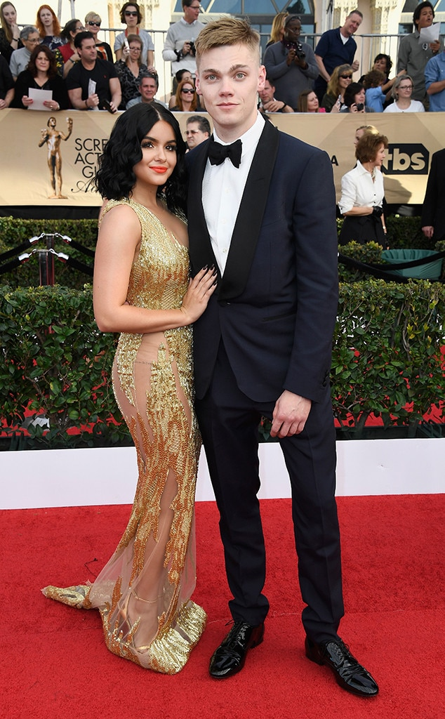 Ariel Winter, Levi Meaden, 2017 SAG Awards, Couples