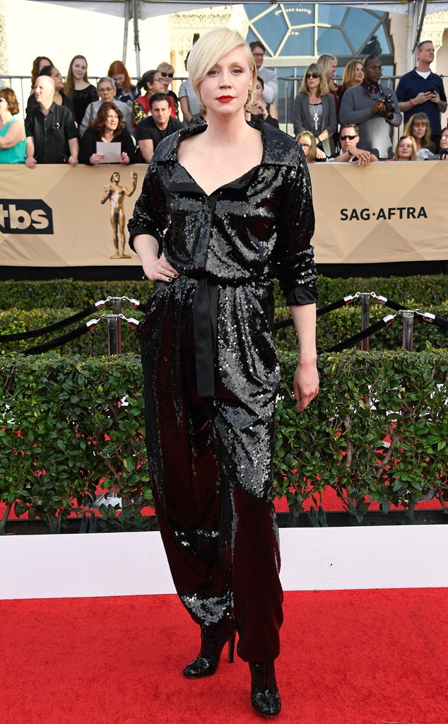 Gwendoline Christie, 2017 SAG Awards, Arrivals