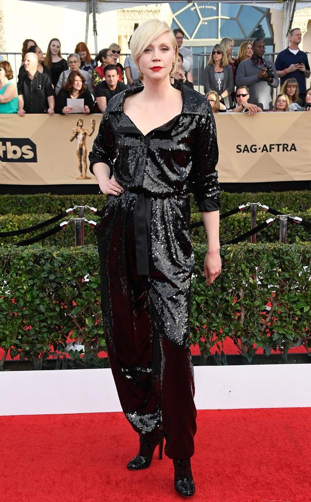 Gwendoline Christie, 2017 SAG Awards, Arrivals