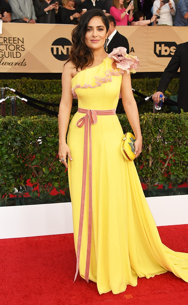 Salma Hayek, 2017 SAG Awards, Arrivals