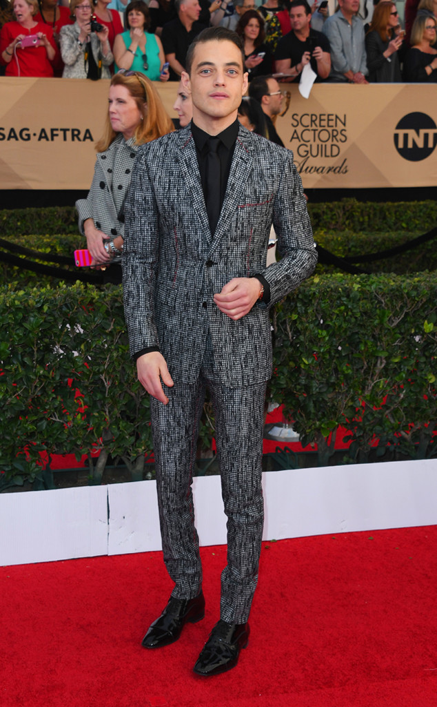 Rami Malek, 2017 SAG Awards, Arrivals