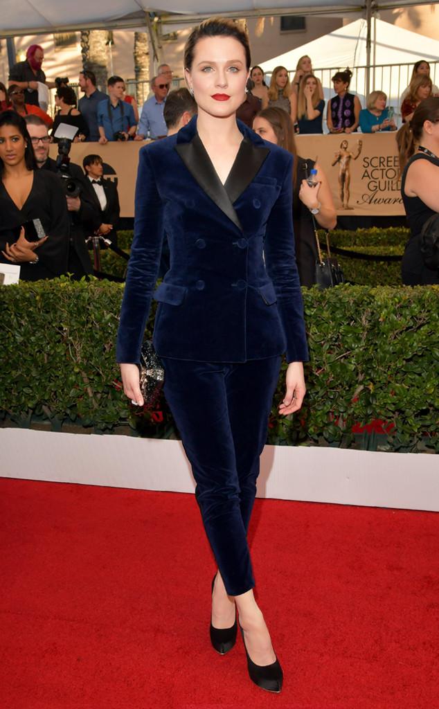 Evan Rachel Wood, 2017 SAG Awards, Arrivals