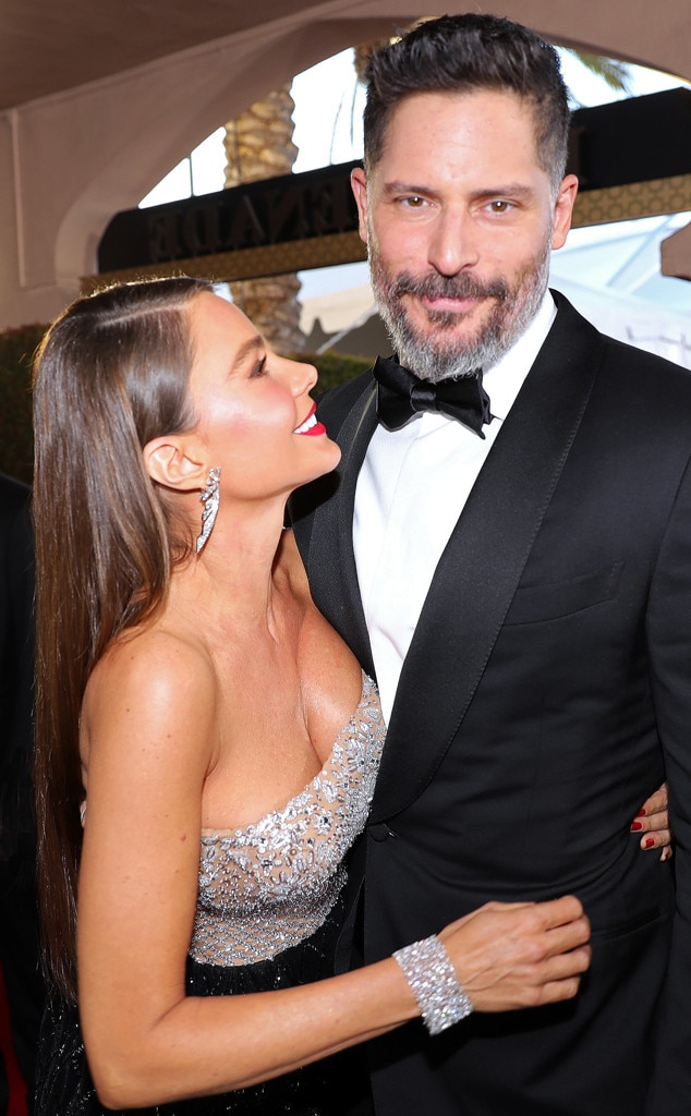 Joe Manganiello, Sofia Vergara, 2017 SAG Awards, Candids