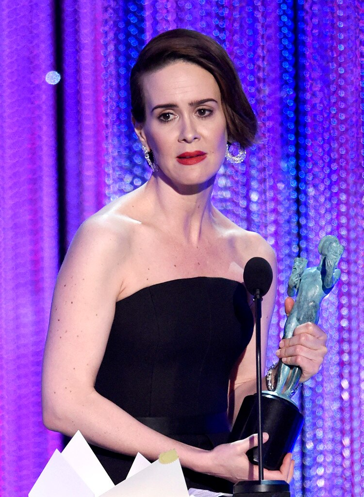 Sarah Paulson, 2017 SAG Awards, Winners
