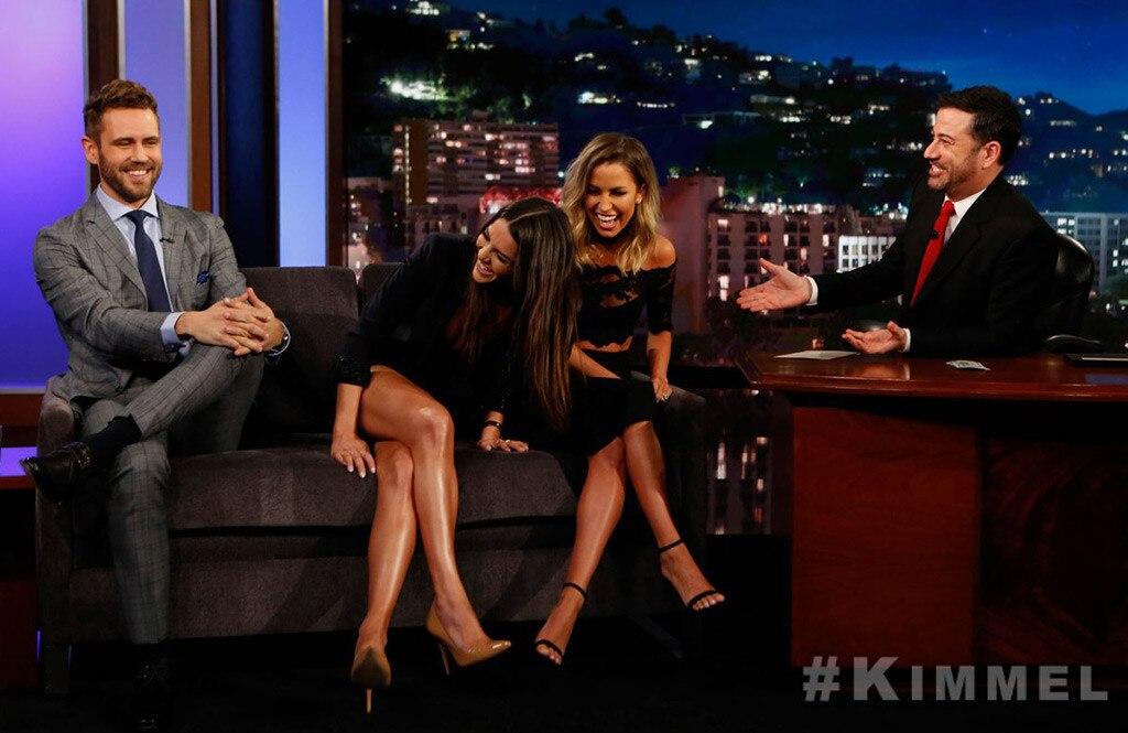Nick Viall, Andi Dorfman, Kaitlyn Bristowe, Jimmy Kimmel Live