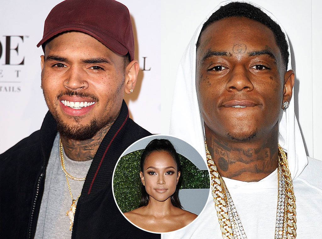 Chris Brown, Soulja Boy,  Karrueche Tran