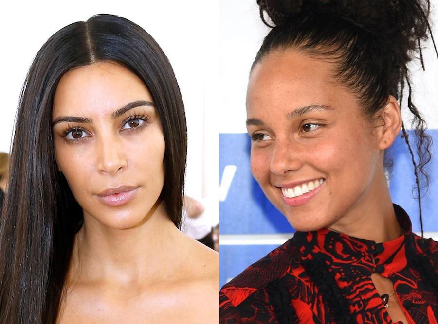 Kim Kardashian, Alicia Keys