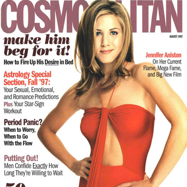 Jennifer Aniston, Cosmopolitan