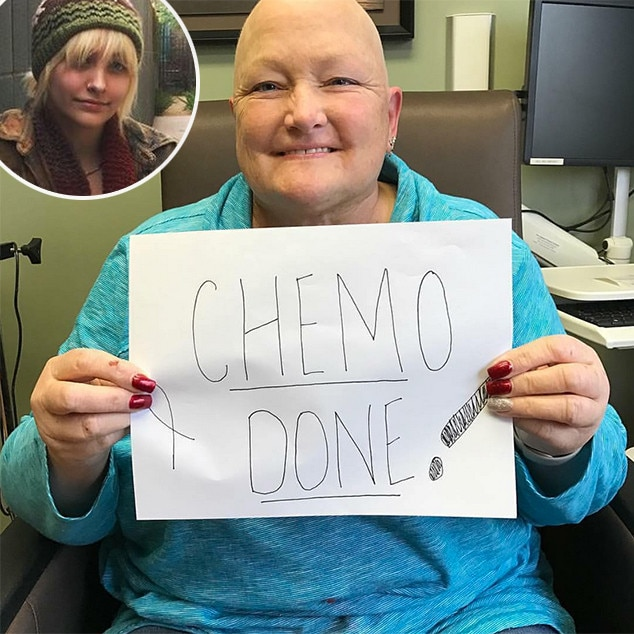 Paris Jackson Celebrates Debbie Rowe's Last Chemotherapy Treatment