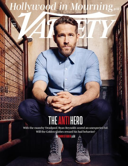 Ryan Reynolds, Variety