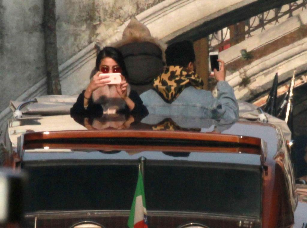 Selena Gomez, The Weeknd, Italy