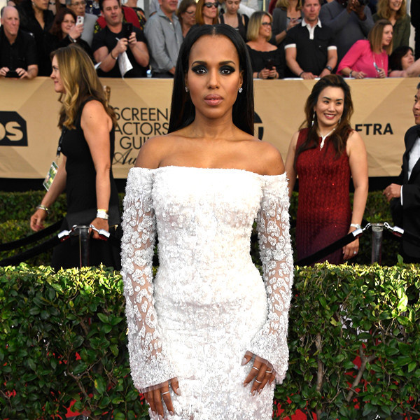 Kerry Washington, 2017 SAG Awards, Arrivals